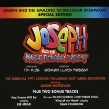 Joseph and the Amazing Technicolor Dreamcoat: 1991 London Palladium Cast Recording, CD / Special Edition