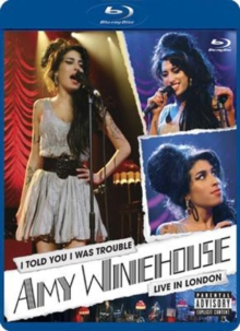 Amy Winehouse: I Told You I Was Trouble - Live in London, Blu-ray