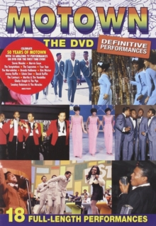 Motown: The DVD - Definitive Performances, DVD