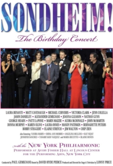Stephen Sondheim: The Birthday Concert, DVD