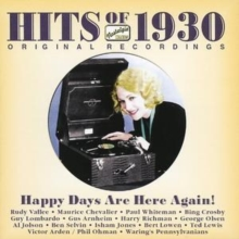 The Hits of 1930, CD / Album Cd