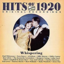 Hits of 1920's - 'Whispering', CD / Album