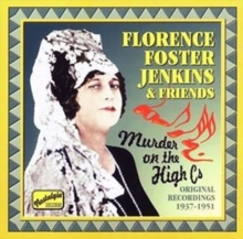 Murder On the High C's: Original Recordings 1937 - 1951, CD / Album