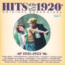 Hits of the 1920s: 1921-1923, CD / Album Cd
