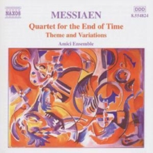 Messiaen: Quartet for the End of Time, CD / Album Cd