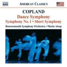 Dance Symphony, Symphony No. 1 (Alsop, Bournemouth So), CD / Album