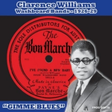 Clarence Williams Washboard Bands 1926-29, CD / Album Cd