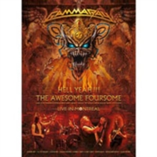Gamma Ray: Hell Yeah!!! The Awesome Foursome - Live in Montreal, DVD