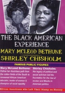 Black American Experience: Mary McLeod Bethune and ..., DVD DVD