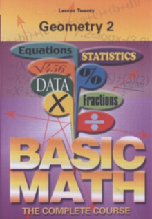 Basic Maths: Geometry 2, DVD