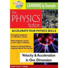 Physics Tutor: Velocity and Acceleration in One Dimension, DVD