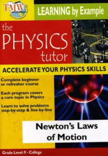 Physics Tutor: Newton's Laws of Motion, DVD