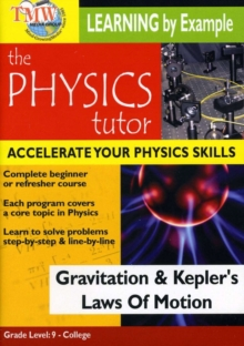 Physics Tutor: Gravitation and Kepler's Laws of Motion, DVD
