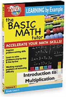 The Basic Math Tutor: Introduction to Multiplication, DVD DVD