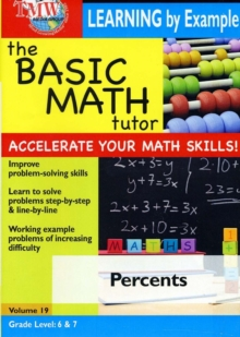 Basic Math Tutor: Percents, DVD DVD