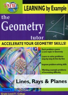 Geometry Tutor: Lines and Planes, DVD