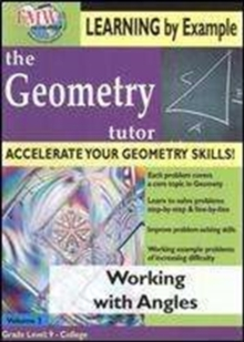 Geometry Tutor: Working With Angles, DVD