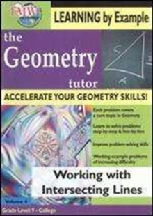 Geometry Tutor: Working With Intersecting Lines, DVD