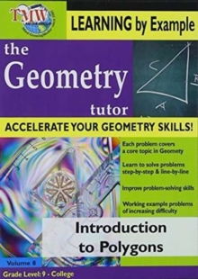 Geometry Tutor: Introduction to Polygons, DVD