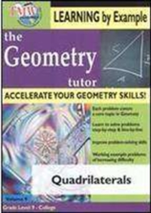 Geometry Tutor: Quadrilaterals, DVD