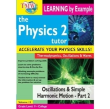 Physics Tutor 2: Oscillations and Simple Harmonic Motion 2, DVD