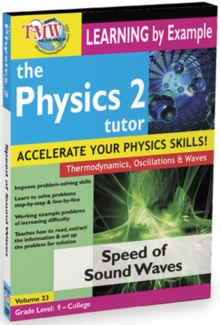The Physics Tutor 2: Speed of Sound Waves, DVD DVD