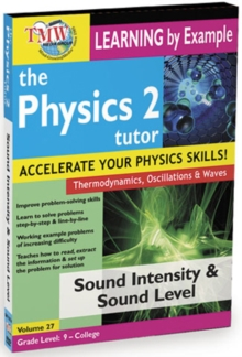The Physics Tutor 2: Sound Intensity and Sound Level, DVD DVD