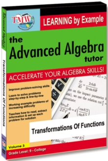 The Advanced Algebra Tutor: Transformations of Functions, DVD