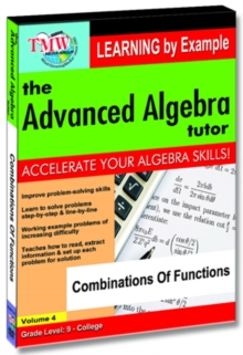 The Advanced Algebra Tutor: Combinations of Functions, DVD DVD