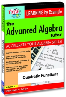 The Advanced Algebra Tutor: Quadratic Functions, DVD