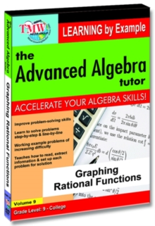 The Advanced Algebra Tutor: Graphing Rational Functions, DVD