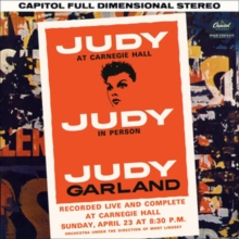 Judy Garland At Carnegie Hall, CD / Album