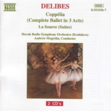 Leo Delibes: Coppelia/La Source, CD / Album Cd