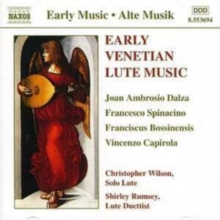 Early Venetian Lute Music, CD / Album Cd
