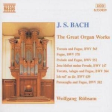 The Great Organ Works, CD / Album