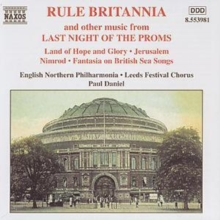 Rule Britannia and other music from Last Night Of The Proms, CD / Album
