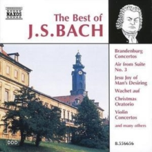 The Best of J.S.bach, CD / Album