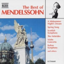The Best of Mendelssohn, CD / Album Cd