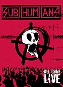 Subhumans: All Gone Live, DVD