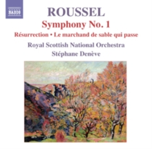 Symphony No. 1/Resurrection/Le Marchand De Sable Qui Passe, CD / Album