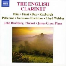 English Clarinet, The (Bradbury, Cryer), CD / Album