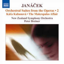 Janacek: Orchestral Suites from the Operas, CD / Album