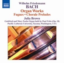 Wilhelm Friedemann Bach: Organ Works, CD / Album