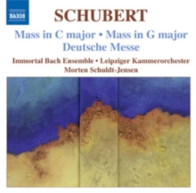 Mass in C Major/Mass in G Major/Deutsche Messe, CD / Album