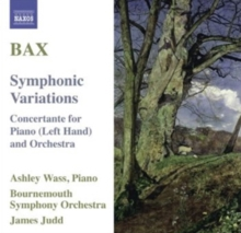 Bax: Symphonic Variations, CD / Album