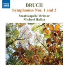 Bruch: Symphonies Nos. 1 and 2, CD / Album