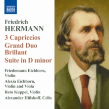 Friedrich Hermann: 3 Capriccios/Grand Duo Brillant/..., CD / Album