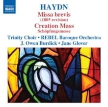 Haydn: Missa Brevis/Creation Mass, CD / Album