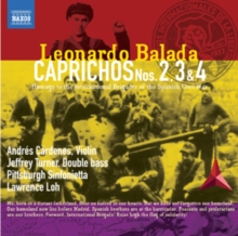 Leonardo Balada: Caprichos Nos. 2, 3 and 4, CD / Album