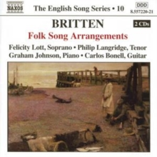 Folk Song Arrangements (Lott, Langridge, Johnson), CD / Album
